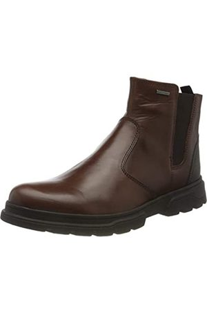 Geox U CLINTFORDB ABX D DK BROWN/DK COFFEE Men's Boots Chelsea size 44(EU)