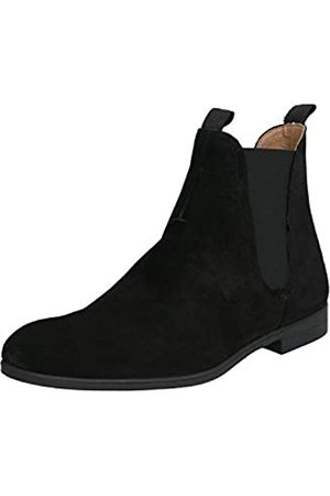 H by Hudson Atherstone, Botas Chelsea Hombre, (Black 01)