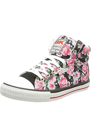 British Knights DEE, Zapatillas Mujer, Diseño de Flores, Color