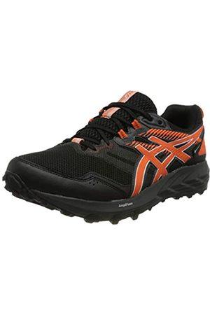 Asics Gel-Sonoma 6 G-TX, Trail Running Shoe Hombre, Black/Marigold Orange