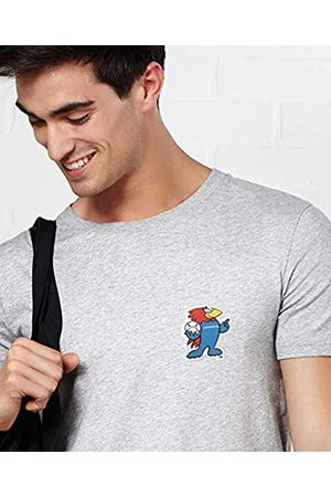 Monsieur Footix Ecusson Camiseta, Hombre