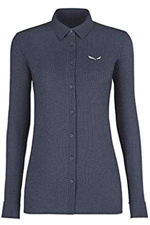 Salewa Puez Minicheck2 Dry W L/S Camisa, Mujer