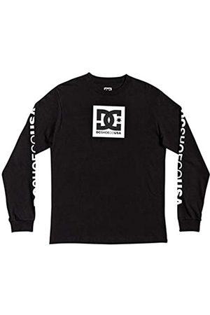 DC Square Star-Camiseta De Manga Larga para Hombre, Black