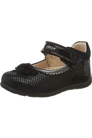 Geox B KAYTAN C BLACK Baby Girls' First Walking Shoes Mary Jane size 22(EU)