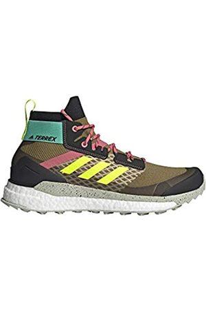adidas Zapatilla Terrex Free Hiker, Botas de Senderismo Hombre, WILMOS/CBLACK/ACIMIN