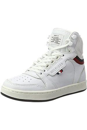 Tommy Hilfiger Zapatillas deportivas - H3285oxton Jr 4a, Zapatillas Unisex Niños, (White)