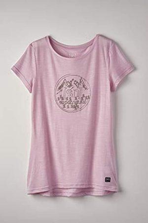 Supernatural Super.natural Camiseta de Manga Corta para Mujer, con Lana de Merino, W Printed tee, Mujer, Camiseta de Manga Corta Estampada, SNW013403M01L