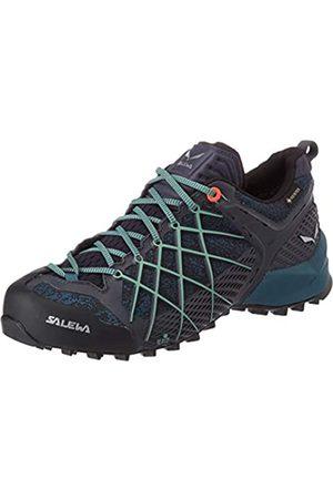 Salewa WS Wildfire Gore-TEX, Zapatos de Senderismo Mujer, (Ombre Blue/Atlantic Deep)