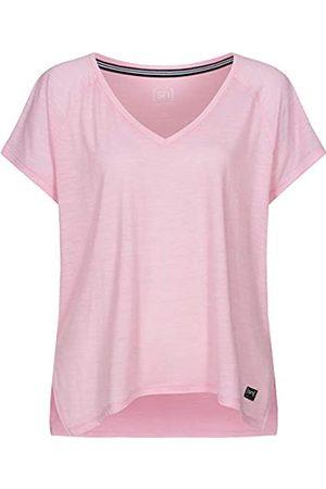 Supernatural Super.natural Camiseta Ancha para Mujer con Lana de Merino W JONSER tee, Mujer, SNW013420K38L