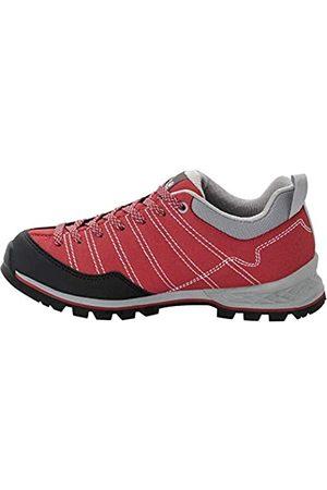 Jack Wolfskin Scrambler W, Zapatos de Low Rise Senderismo Mujer, Red/Light Grey 2106
