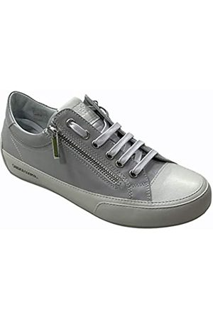 Candice Cooper R.Deluxe Zip, Oxford Plano Mujer, Bianco/Opal Grey