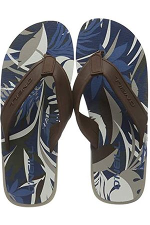 O'Neill Fm Arch Graphic Sandals Chancletas Para Hombre, Hombre, Blue Aop W/Brown Or Beig