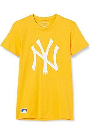 New Era MLB Seasonal Team Logo tee Neyyan AGD Camiseta de Manga Corta, Hombre