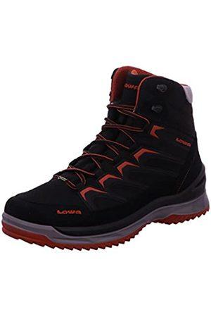 Lowa Innox Ice GTX Mid, Zapatos de High Rise Senderismo Hombre, (Nero/Terracotta 9959)