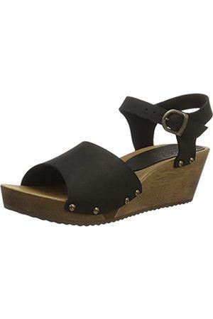 Sanita Olisa Wedge Flex Sandal - Sandalias con Cuña Mujer, Color