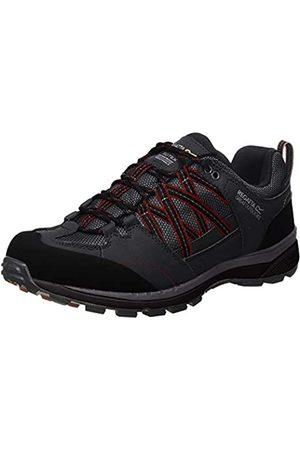 Regatta Chaussures Techniques De Marche Basses Samaris II, Zapato para Caminar Hombre, Ash/Rio Red