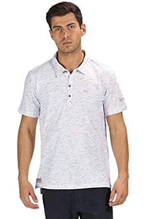 Regatta Manzo Coolweave Cotton Button Neck Polo, Hombre