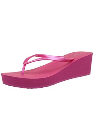 O'Neill Fw Wedge Flipflop - Chanclas Mujer, Pink (Beetroot Purple)