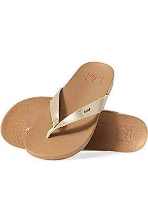 Reef Cushion Bounce Court, Chanclas Mujer, Tan/Champagne