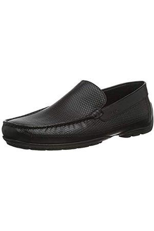 Geox U MONER A BLACK Men's Loafers & Moccasins Moccasin size 41