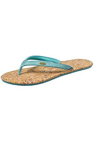 O'Neill FW Cork Bed Flip Flops, Chanclas Mujer, Blau (5141 Aqua)