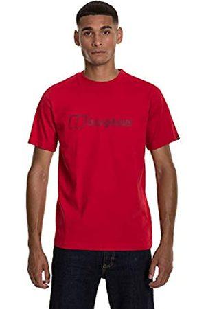 Berghaus Camiseta Moderna del Logotipo de los Hombres, Hombre, Camiseta, 4A000889Z76