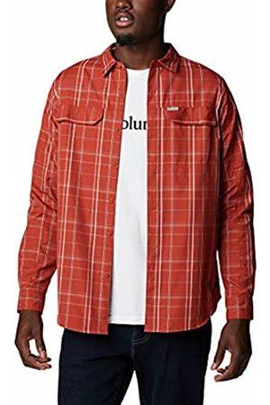 Columbia Hombre Casual - Silver Ridge 2.0 Camisa de cuadros de manga larga para hombre