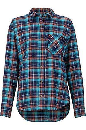 Marmot Wm's Maggie MidWt Flannel LS Camiseta, Mujer