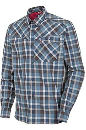 Salewa Fanes Hike Dry M L/S SRT Camisa de Manga Larga, Hombre, Morado (M Bkol/PAPY/Wash/Dkd)