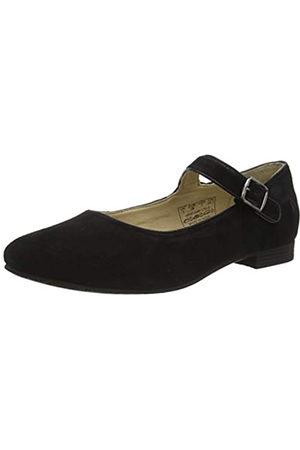 Hush Puppies Melissa Strap, Zapatos Planos Mary Jane Mujer, Black