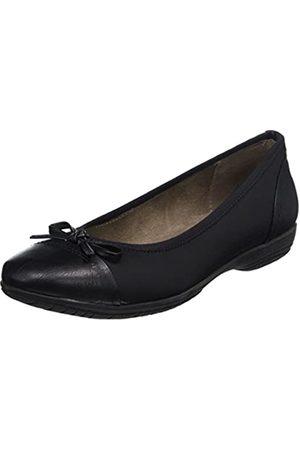 Soft Line 22168, Bailarinas Mujer, (Black)