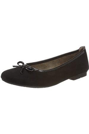 Soft Line 22164, Bailarinas Mujer, (Black)