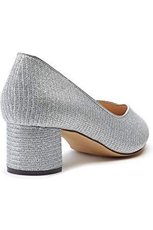 Paradox London Pink Fable, Zapatos de tacón con Punta Cerrada Mujer, (Silver 40)