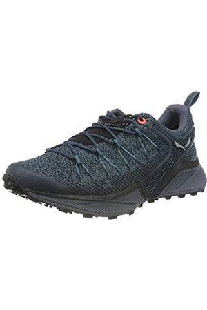 Salewa WS Dropline, Zapatillas para carrera de senderos Mujer, (Mallard Blue/Grisaille)