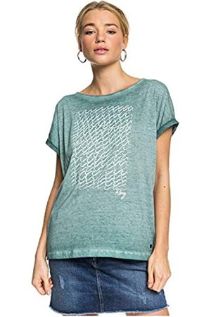 Roxy Summertime Happiness - Camiseta para Mujer Camiseta, Mujer