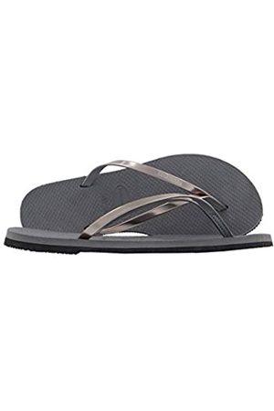 Havaianas You Metallic, Sandalias para Mujer, (Steel Grey)