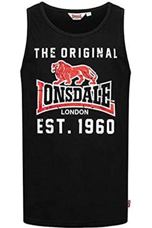 Lonsdale London Camiseta Leece para Hombre. Talla única