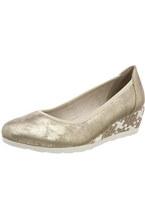 Soft Line 22363, Zapatos de Tacón Mujer, (Platinum)