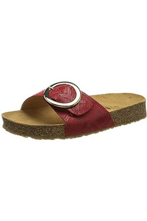 Haflinger Round Buckle Gina, Chanclas Mujer