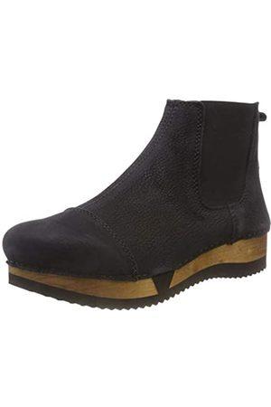 Sanita Wood resa Sport Flex Boot, Botas Chelsea Mujer, (Black 2)