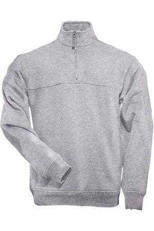 5.11 Tactical Hombres 1/4 Zip Job Camisa Heather Grey tamaño XXL