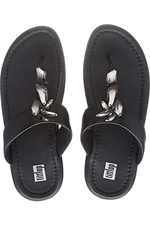 FitFlop Fino Sleek Ombre Stones Toe-Post Sandals, Chanclas Mujer