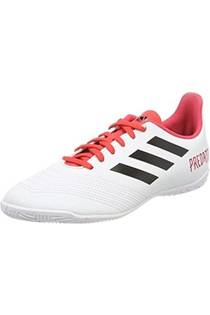 adidas Predator Tango 18.4 In J, Zapatillas de fútbol Sala Unisex niño, (Ftwbla/Negbas/Correa 000)