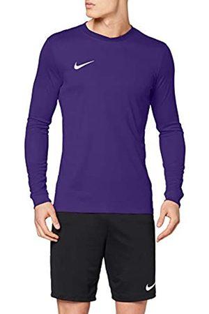 Nike LS Park Vi JSY Camiseta de Manga Larga, Hombre, Morado (Court Purple/White)