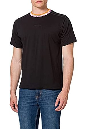 adidas GN5627 Rib Detail SS T T-Shirt Mens Black XL