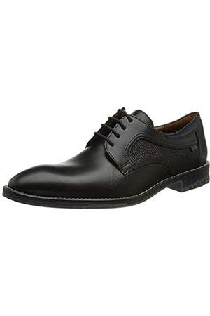 Lloyd Darian, Zapatos de Vestir par Uniforme Hombre, Schwarz/Pacific