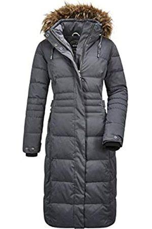 G.I.G.A. DX by killtec Abrigo funcional para mujer Ventoso Wmn Quilted Ct B, estilo informal, con capucha desmontable, Mujer, 35817-000