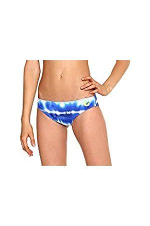 Glide Soul De la Mujer 305bk2020 – 01 X XS Bikini Tie Dye Bottoms, impresión/limón, 2 x -Small/0
