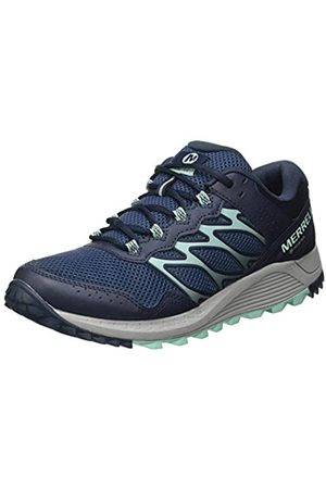 Merrell Wildwood GTX, Zapatillas para Caminar Mujer, (Navy)