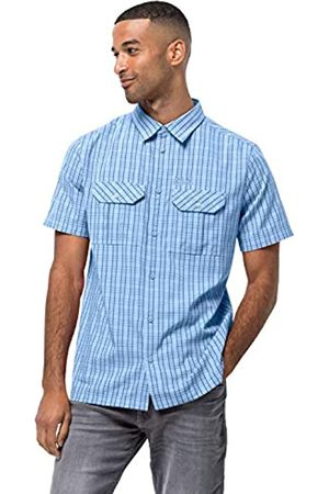 Jack Wolfskin 1401042-7817007 Thompson Camisa de Manga Corta para Hombre, Secado Rápido